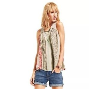 Cabi Crocheted Tank Top